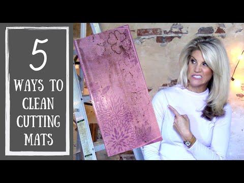 How to Clean Cutting Mats (Cricut Mat Cleaner)