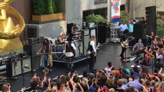 Aerosmith Love in an Elevator Today Show 2018 live