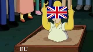Britain leaves the EU Simpsons Version - Brexit