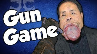 WEIRDEST VOICE EVER! (Gun Game Reactions - Call of Duty: Ghosts)