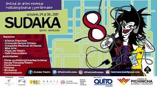 Festival Sudaka 8 Invitación de Fernando Cedeño
