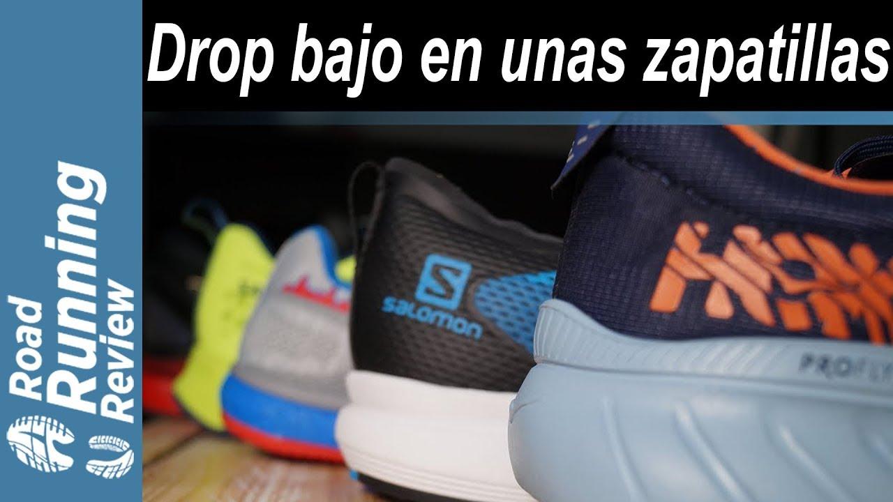 radio Desnatar Calígrafo  LIVE | ¿Qué significa el drop bajo en unas zapatillas de running ...