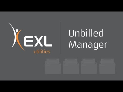 Improving Receivables Management for Utilities – Unbilled Manager