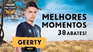 MVP DAS SEMIFINAIS: paiN Geerty | MELHORES MOMENTOS FREE FIRE