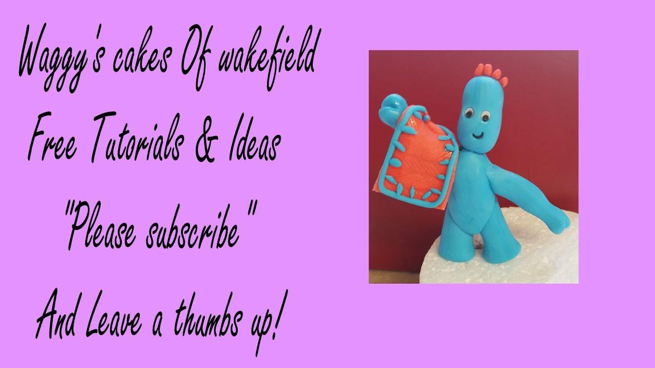 making Iggle piggle cake topper - YouTube