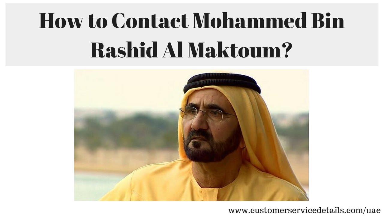 Rashid Al Maktoum Contact Address, Phone Number, Email ID, Website