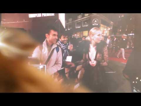 Danika Yarosh and Tom Cruise in London.