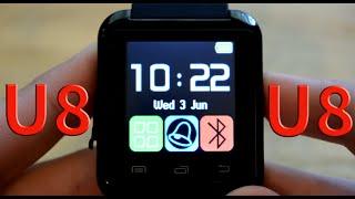 u8 smart watch unboxing review   15 ebay