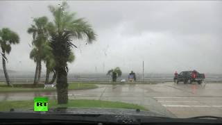 El huracán Michael se acerca a la costa de Florida, EE. UU.