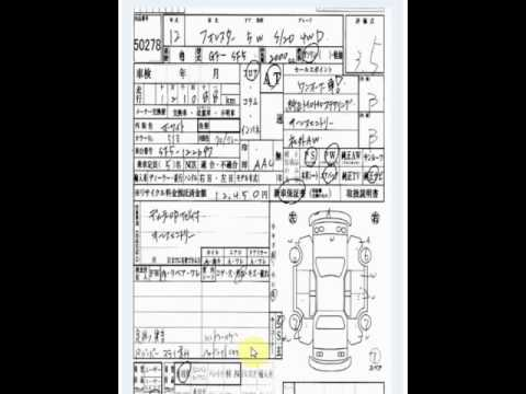Japanese car auction grading: Why you need to check the translation
