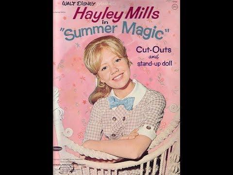 Baumwoll Archives Presents Summer Magic Hayley Mills, Dorothy Mcguire, Burl Ives,  Deborah Walley