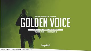 """ Golden Voice"" - Hard Rap x Freestyle Instrumental Ft (SCKBEATZ )"