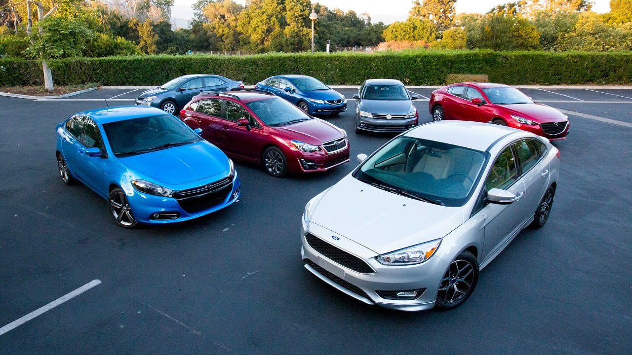 Popular 2015 Compact Car Comparison  Kelley Blue Book  YouTube