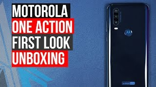 Motorola One Action First Look Unboxing iGyaan