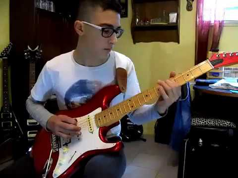 Pink Floyd - Comfortably Numb Solo - Cover by Jason Gerosa