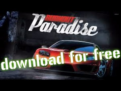 HOW TO DOWNLOAD BURNOUT PARADISE CITY ULTIMATE BOX FOR FREE 2017