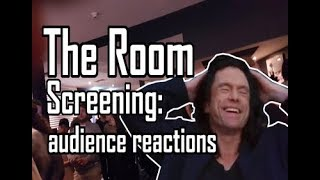 The Room LIVE cinema screening audience reactions
