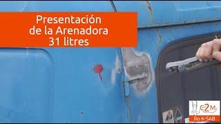 Arenadora portatil 31 litros c2m