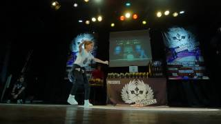 Hip Hop kids 1vs1 Ugne Tamuleviciute (LT) vs Gerda Andraikenaite (LT) @Vilnius Street Battle 2017