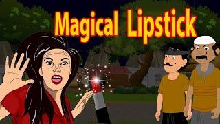 Magical Lipstick   English Cartoon   Magical Stories   Maha Cartoon TV English