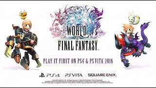 World of Final Fantasy Trailer at E3 2015