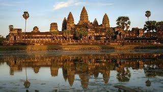 Камбоджа.  Ангкор Ват-волшебный храм солнечного времени.