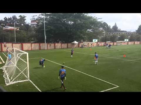 Trabajo de definicion en Futbol