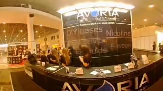 360 video. Начало второго дня Vape Trade Expo Киев 18-19 марта 2017 Events International