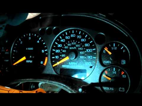 2000 s10 gauge cluster problemhelp!!!  YouTube