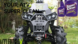HOW TO WASH YOUR ATV! SUPER CLEAN!  2015 LIFTED CANAM RENEGADE 1000XXC