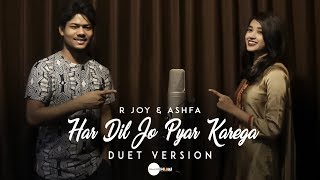 Download Mp3 Har Dil Jo Pyar Karega - Cover | R Joy Ft. Ashfa | Salman Khan, Rani Mukherji