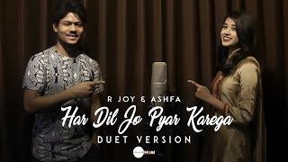 Download Har Dil Jo Pyar Karega - Cover | R Joy ft. Ashfa | Salman Khan, Rani Mukherji