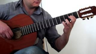 Somewhere in Time (John Barry) - Solo Fingerstyle Guitar Cover