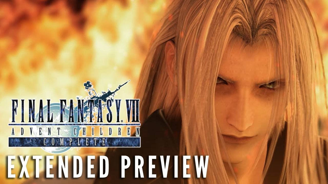 FINAL FANTASY VII: ADVENT CHILDREN COMPLETE (2005) – First 10 Minutes
