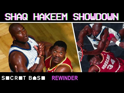 Shaq and Olajuwon's Game 1 battle in the 1995 NBA Finals deserves a deep rewind