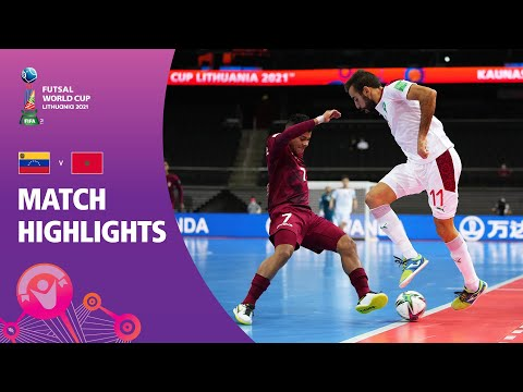 Venezuela v Morocco | FIFA Futsal World Cup 2021 | Match Highlights