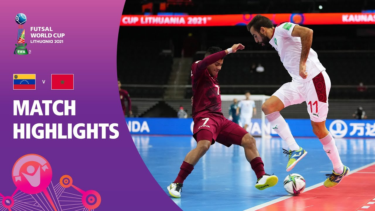 Download Venezuela v Morocco | FIFA Futsal World Cup 2021 | Match Highlights