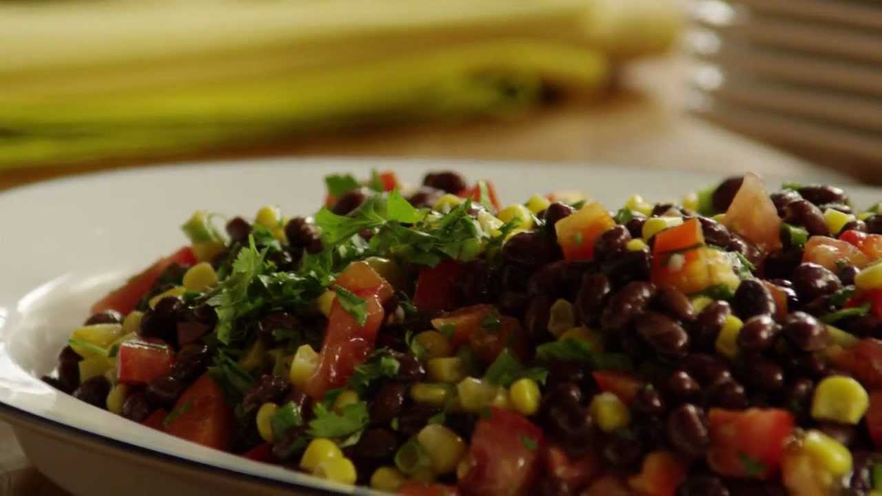 How to Make Black Bean and Corn Salad | Allrecipes com