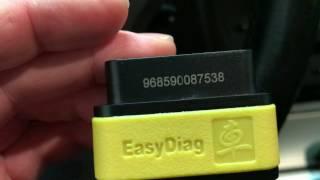 Отличие Launch EasyDiag 2.0(желтый) от x431 idiag(красный), auto diag