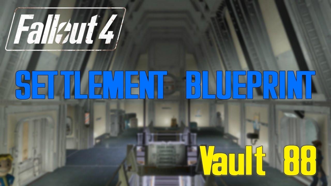 Fallout 4 vault 88 blueprints youtube fallout 4 vault 88 blueprints malvernweather Gallery