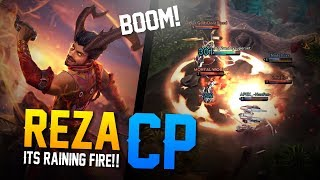 Vainglory Gameplay - Episode 327: ITS RAINING FIRE!! Reza |CP| Jungle Gameplay [Update 2.7]