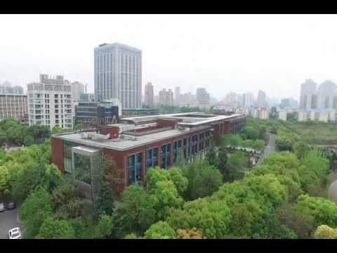A drone's eye view of Autodesk's Shanghai office