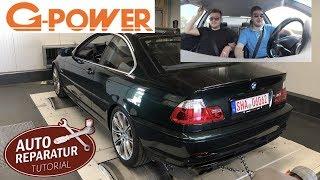 BMW E46 Projekt | Wieviel PS hat der 330i noch nach 18 Jahren ?? | Eingangsmessung bei G-Power !!