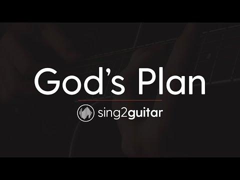 God's Plan (Acoustic Guitar Karaoke Instrumental) Drake