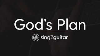 God's Plan (Acoustic Guitar Karaoke Instrumental) Drake