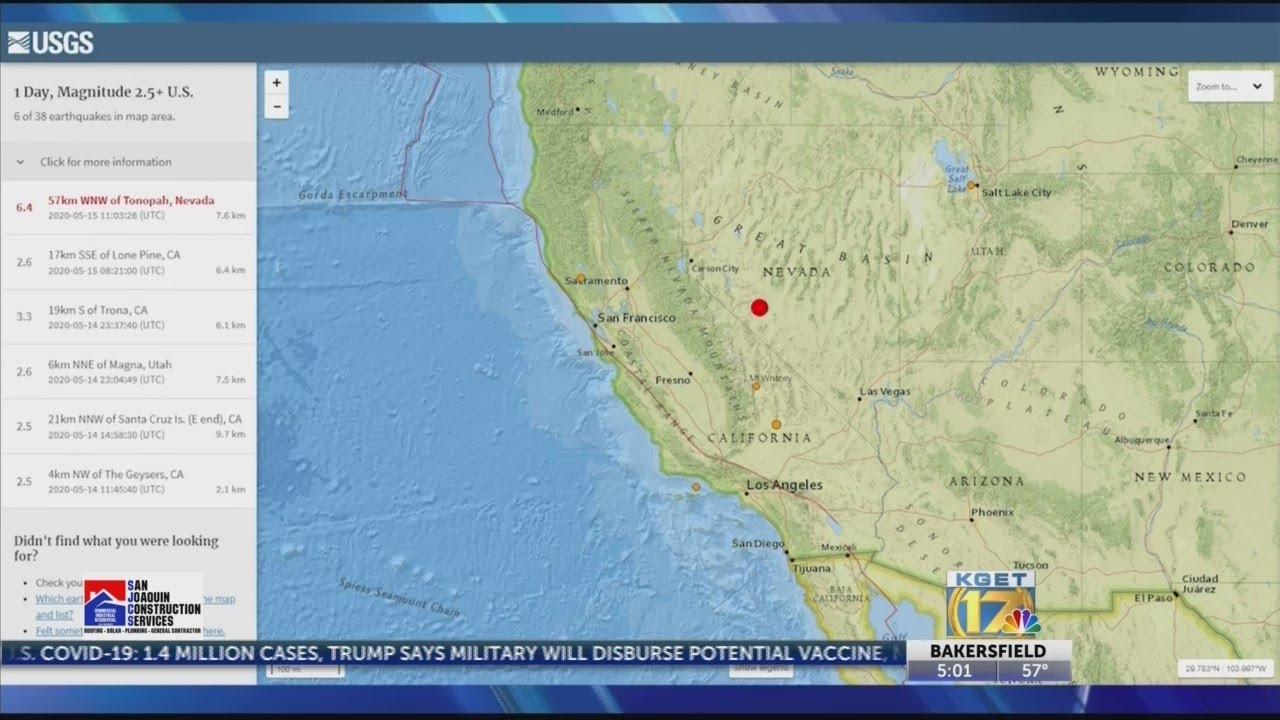 Earthquake swarm rattles rural southeastern California
