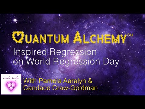 World Regression Day Pamela Aaralyn