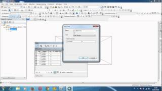 Membuat network analisis database ArcGis 10.1