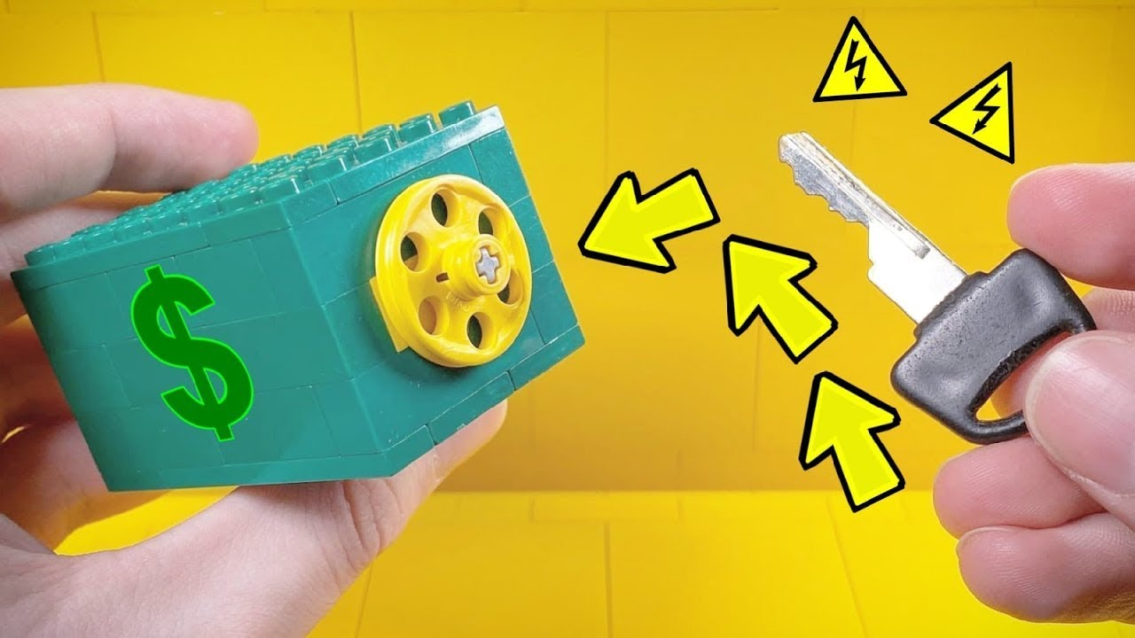 How to make a Lego Combination Safe !