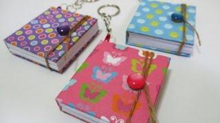DIY : #99 Mini Notebook Keychain ♥